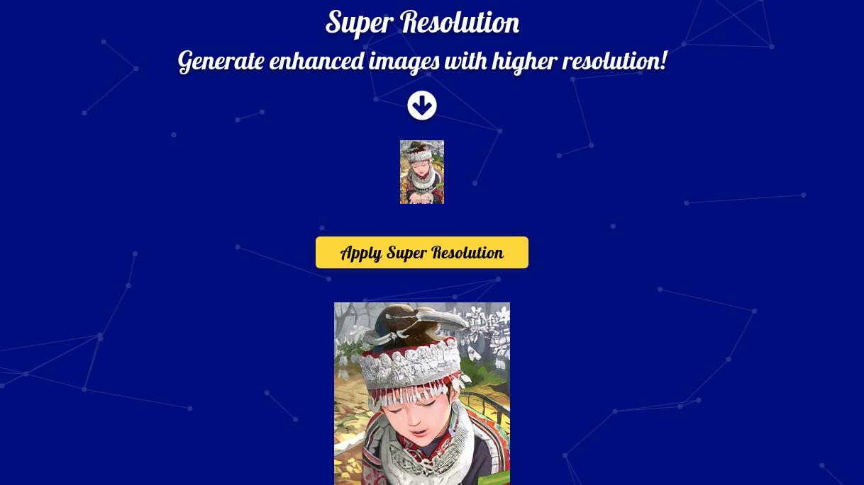 Super Resolution